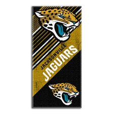 NFL Jaguars Diagonal Beach Towel