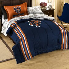 NFL Chicago Bears 5 Piece Twin Bed in a Bag Set