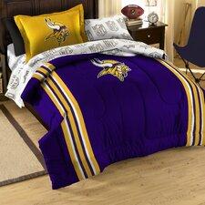 NFL Vikings Bed in a Bag Set