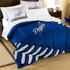 MLB Dodgers Contrast 3 Piece Twin/Full Comforter Set