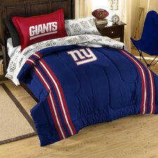 NFL NY Giants Bed in a Bag Set