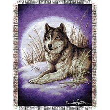 Entertainment Tapestry Hautman Brothers Moon Called Throw Blanket