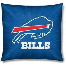 NFL Buffalo Bills Cotton Throw Pillow