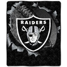 NFL Oakland Raiders Cotton Throw Pillow