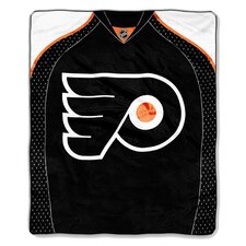 NHL Philadelphia Flyers Super Plush Throw