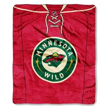 NHL Minnesota Wild Puck Super Plush Throw