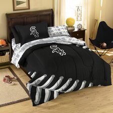 MLB Chicago White Sox 5 Piece Twin Bed in a Bag Set