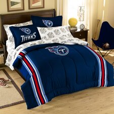 NFL Tennessee Titans 7 Piece Full Bed in a Bag Set