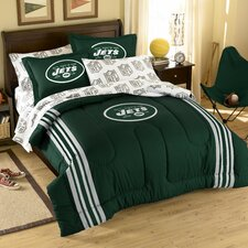 NFL New York Jets 7 Piece Full Bed in a Bag Set