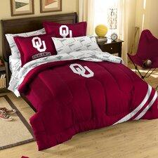 College NCAA Oklahoma Full Comforter Set