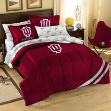 College NCAA Indiana Full Comforter Set