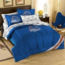 College NCAA Boise State Full Comforter Set