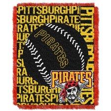 MLB Pirates Double Play Throw