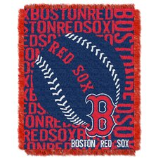 MLB Red Sox Double Play Throw