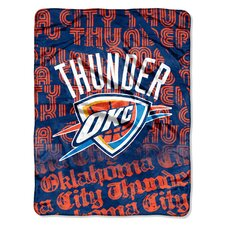 NBA Oklahoma City Thunder Micro Raschel Throw