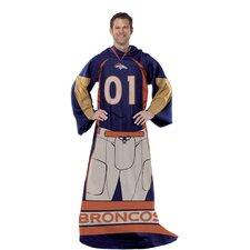 NFL Denver Broncos Comfy Throw