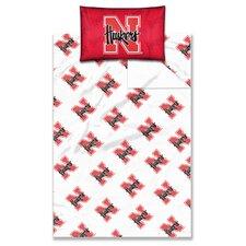 NCAA Nebraska Sheet Set