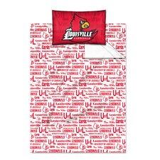NCAA Louisville Sheet Set