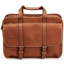 Adventure Leather Laptop Briefcase