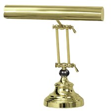 """Advent Piano 13"""" H Table Lamp with Novelty Shade"""