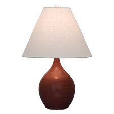 "Scatchard Accent 19"" H Table Lamp with Empire Shade"