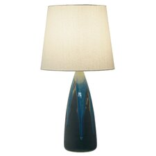 """Scatchard 25.5"""" H Table Lamp with Empire Shade"""