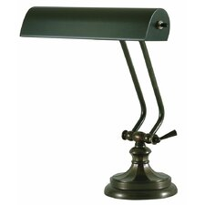 "Round Base Desk 13"" H Table Lamp with Novelty Shade"