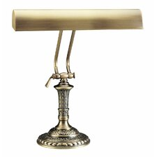 "Round Traditional Base 16"" H Desk Table Lamp with Novelty Shade"