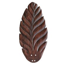 """22"""" Hand Carved Leaf Blades (Set of 5)"""
