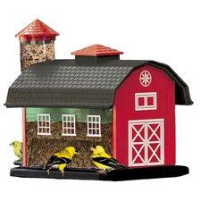 Barn Combination Decorative Bird Feeder