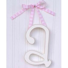 Hand Painted Letter Hanging Initials