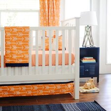 Out and About 4 Piece Crib Bedding Set