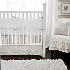 Pebble Moon 4 Piece Crib Bedding Set