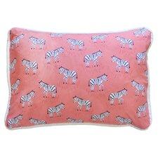 Zebra Parade Throw Pillow