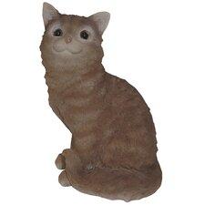 Cat Sitting Up Statue