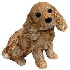 Cocky Cocker Spaniel Puppy Statue