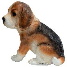 Nosy Beagle Puppy Statue