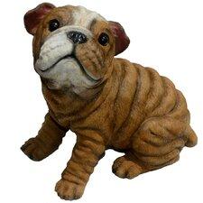 Bully Bulldog Puppy Statue