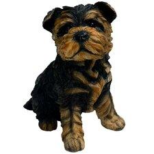 Yorkshire Terrier Puppy Statue