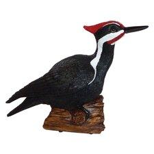 Pileated Woodpecker Chirper Statue