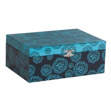 Layla Floral Print Fashion Jewelry Box