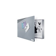 Velio Glass Magnet Board with Hook Organizer