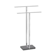 Menoto Freestanding Stainless Steel Matte Towel Stand