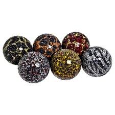 Decorative Mosaic Ball (Set of 6)