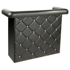 Miami Bar Unit with Crystals in Black