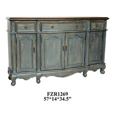 Chatsworth 3 Drawer/4 Door Credenza