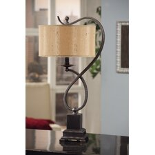 "Echo 27"" H Table Lamp with Drum Shade"