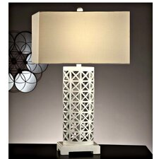 """Starlight 30.5"""" H Table Lamp with Rectangular Shade"""