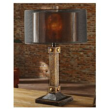 """Montana 31"""" H Table Lamp with Drum Shade"""