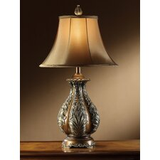 "Ellicott 30"" H Table Lamp with Bell Shade"